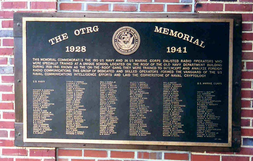 OTRG Cryptologic Command Museum memorial